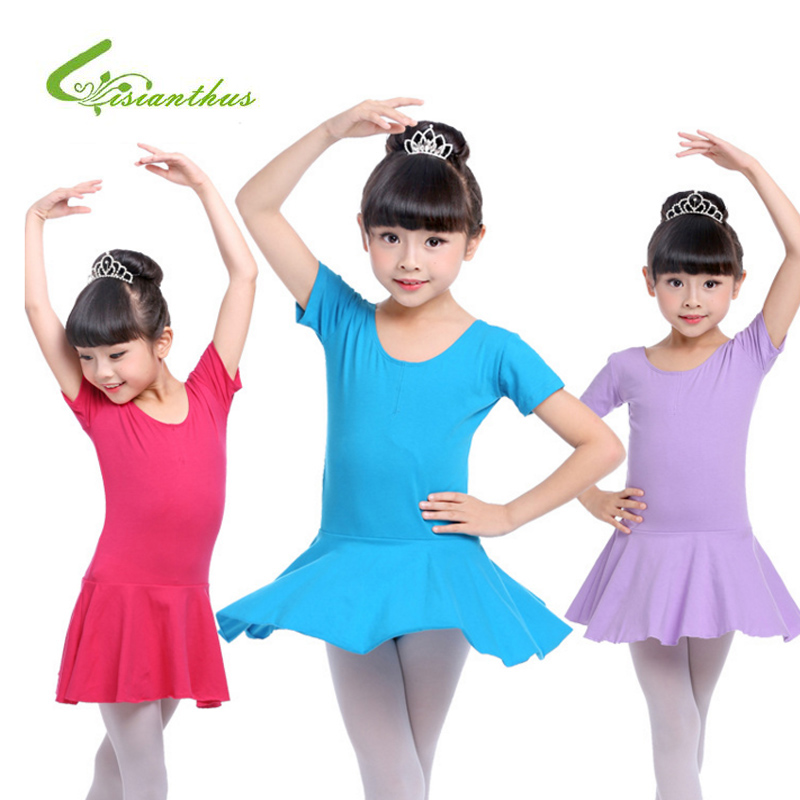 New Girls Ballet Dress Dance Costume Long and Short Sleeve Kids Ballet Dresses For Girls Dance Gymnastics Leotard Dancewear kids dresses for girls girl dress free shipping2010 fashion dance dress performance wear leotard 085 hair accessory oversleeps