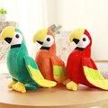 20/25 см Милые Птицы плюшевые Игрушки зеленый/orange/красный Попугай ткань кукла Животных куклы подарок на день рождения для Детей