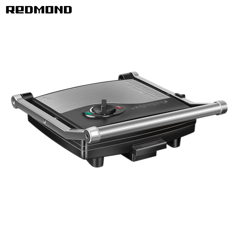 Electric grill Redmond SteakMaster RGM-M800 stainless steel electric grill griddle teppanyaki griddle dorayaki grill machine with double temperature controllers