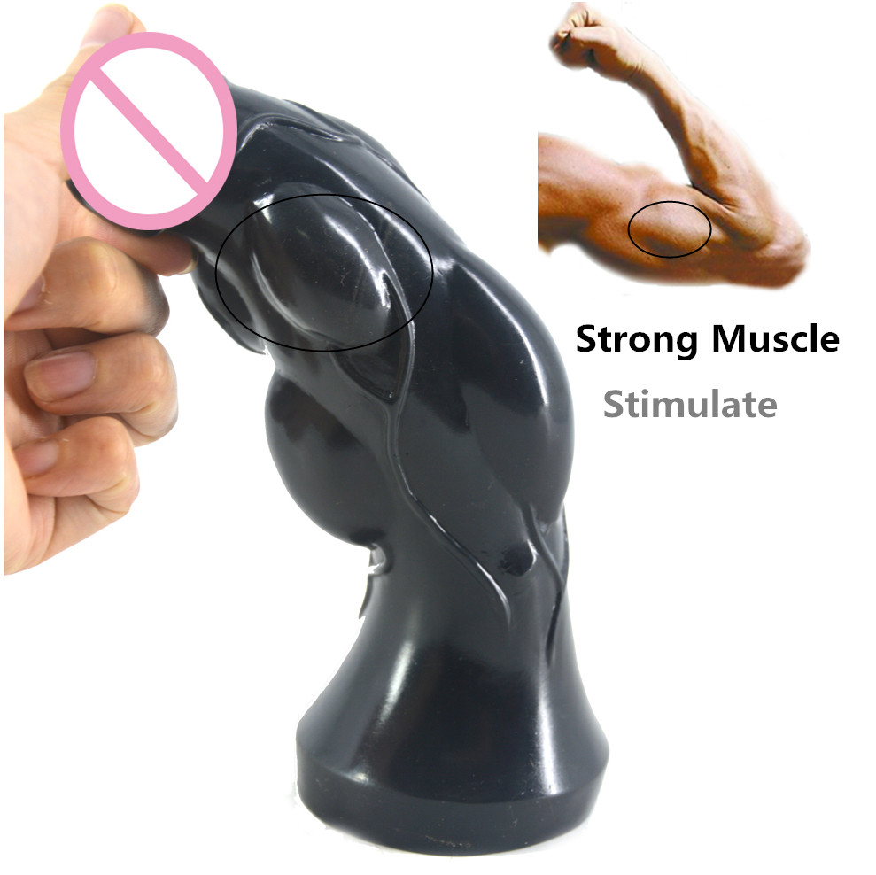 CHGD Big Dildo large anal plug Convex design penis anal stimulate erotic sex toys stuffed stopper anus massage sex shop