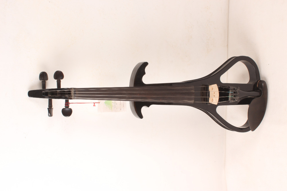 4 string  4/4 Electric Violin Silent Pickup Fine tone Solid wood3# the item is the color if you need other color please tell me one 4 string 4 4 violin electric violin acoustic violin maple wood spruce wood big jack green color