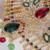 2017 3 pc jóias mujer india maxi colar pedrinhas & pearl forma de folha de cristal mulheres headwear brinco declaração choker collier