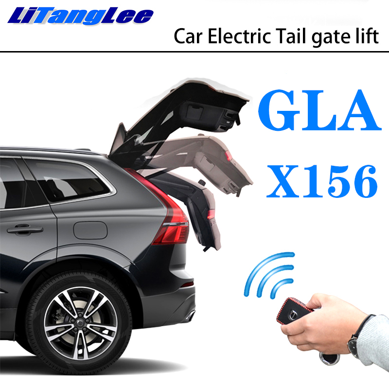 LiTangLee Car Electric Tail Gate Lift Trunk Rear Door Assist System For Mercedes Benz MB GLA Class X156 2014~2019 Remote Control