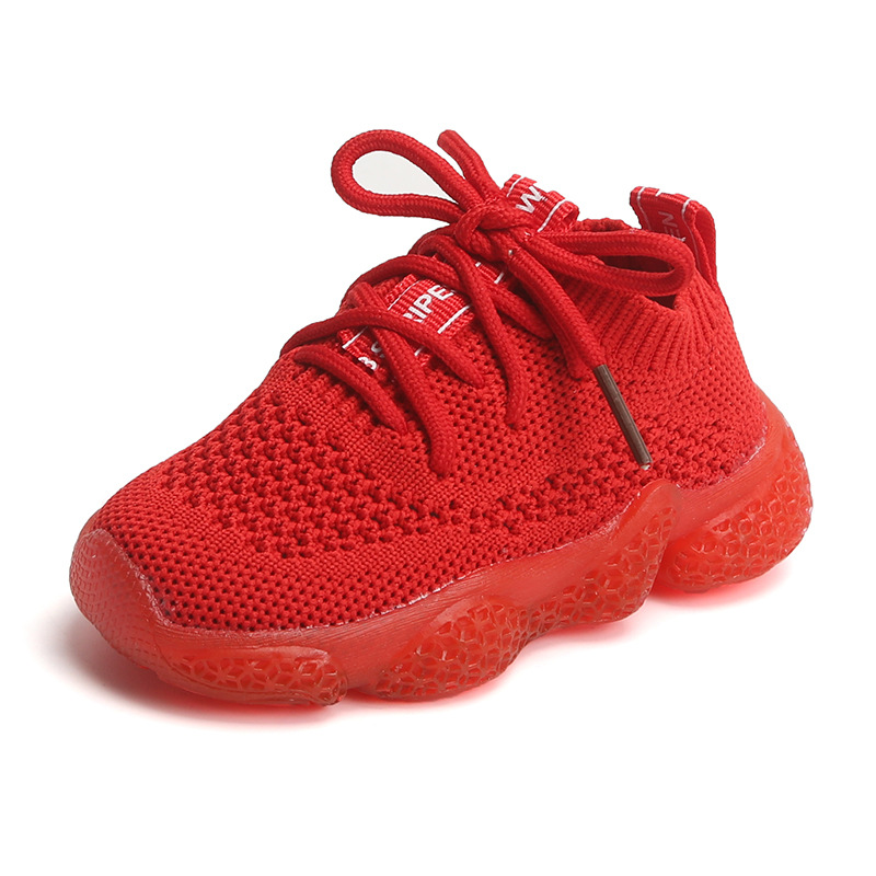 2019 New Breathable Mesh Sneakers 0-2y Baby Boys Infant Toddler First Walkers Bebe Girls Shoes Soft Casual Running Coconut Shoes