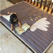 Детские коврик игровой коврик Детский ковер детские игрушки 140X195X3 см машинная стирка коврики для Гостиная противоскольжения Спальня 55X76 дюймов