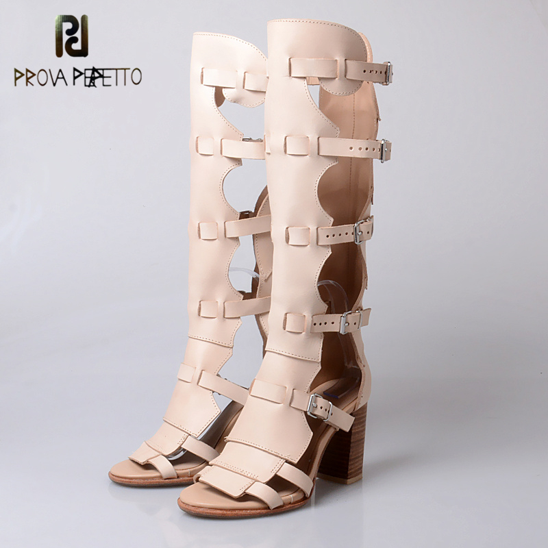 Prova Perfetto всей ладонью Pad латекс удобные Гольфы Сандалии для девочек открытый носок модные, с ремешком с пряжкой со стразами на плоской подошв