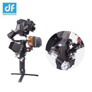 Image 5 - DIGITALFOTO VISION mini vision DJI RONIN SC/ S accessoires de cardan plaque dextension de cou connecter micro à LED moniteur photographique