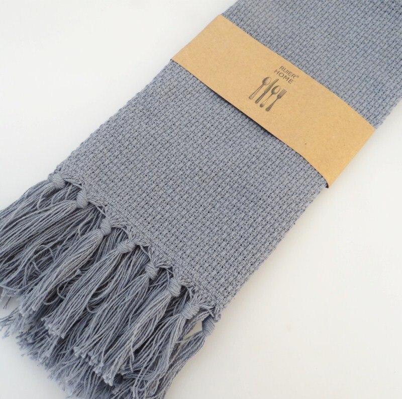 2kom Set francuskog stila resice obrub pamuk pleteni stol Placemat - Tekstil za kućanstvo - Foto 2