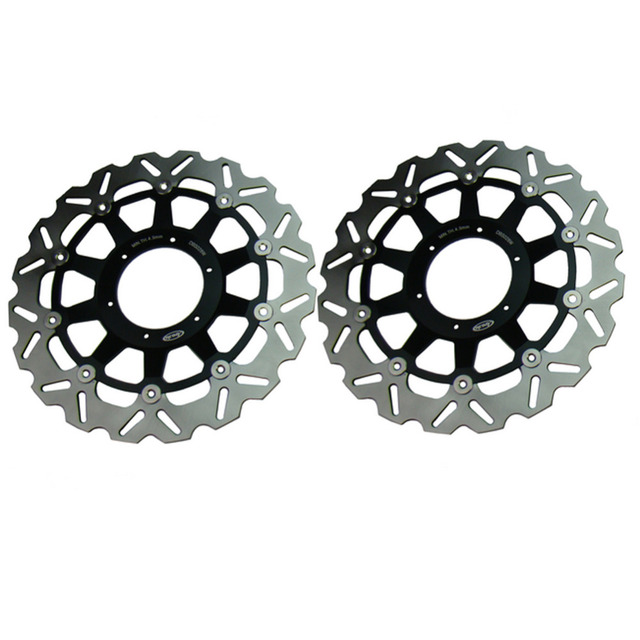 2PCS Arashi Front Brake Disc Rotors Set For Honda 2000 2001 CBR929RR & 2002 2003 CBR954RR