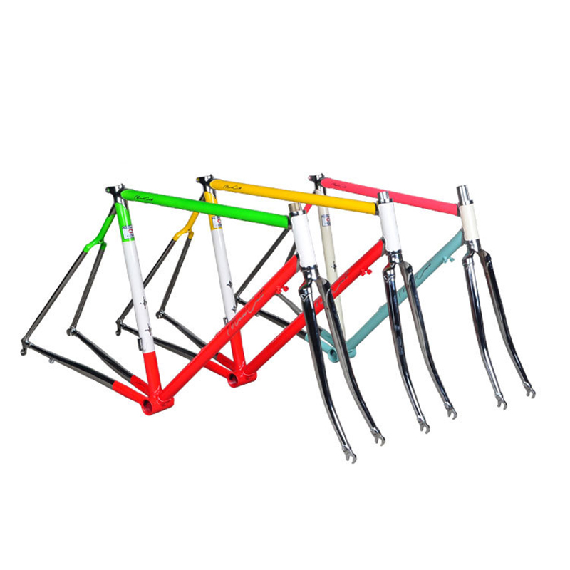 Chrome molybdenum steel columbus frame road bike frame 700C bike 51cm frame Fixed Gear Bike frame цена и фото