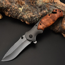 Brand Top quality edition Combative Folding Pocket hunting Knife Camping Hunting Knife