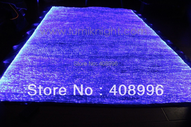 Charmant Fiber Optic Fabric Luminous Tablecloth/ Antependium, Luminescent Mat, Light  Up Clothing