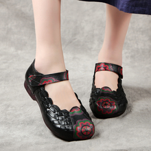 New Arrival Retro Genuine Leather Women Shoes Spring/Autumn