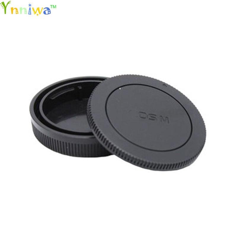 50 Pairs camera Body cap Rear Lens Cap for Canon EOSM M1 2 3 10 EF