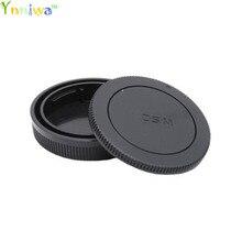 50 Pairs camera Body cap + Rear Lens Cap for Canon EOSM M1/2/3/10 EF M mount 18 55mm