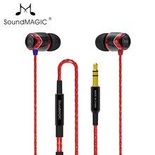 100% Новые оригинальные Soundmagic Sound MAGIC E10 шумоизолирующие наушники вкладыши