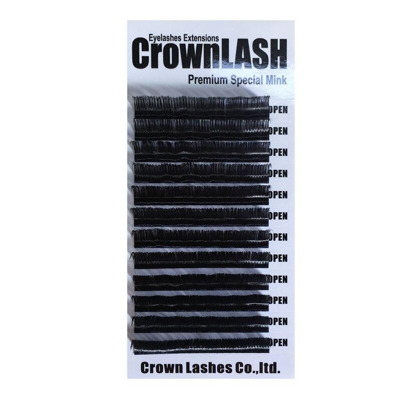 Crownlash μαύρο 9D Volume Lash Extension C, D-0.05 7-15mm - Μακιγιάζ - Φωτογραφία 6