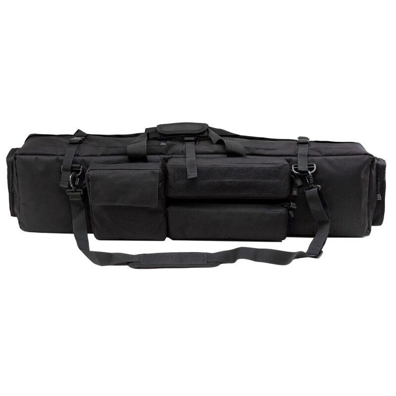 100 CM équipement tactique militaire chasse sac à dos Airsoft carré pistolet sac Protection étui fusil sac à dos plus récent