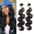 7A Eurasian Body Wave Virgin Hair 3Bundles Human Hair Weave Eurasian Body Wavy Natural Color /1B Eurasian Virgin Hair Body Wave