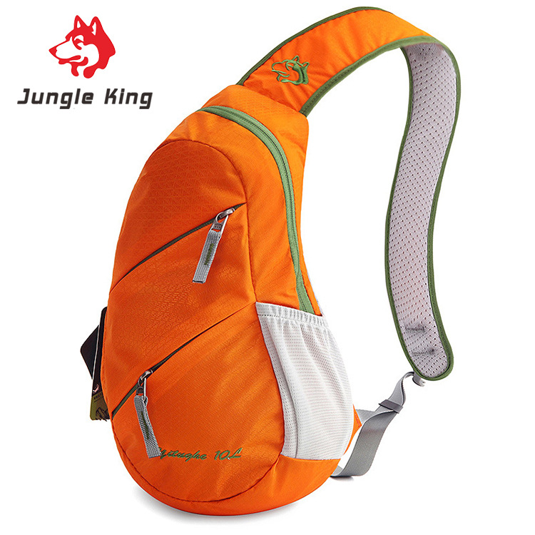 Jungle King Outdoor Leisure Travel New Chest Pack Hiking Movement Chest Pack Multifunction Diagonal Shoulder Bags Wholesale 10L