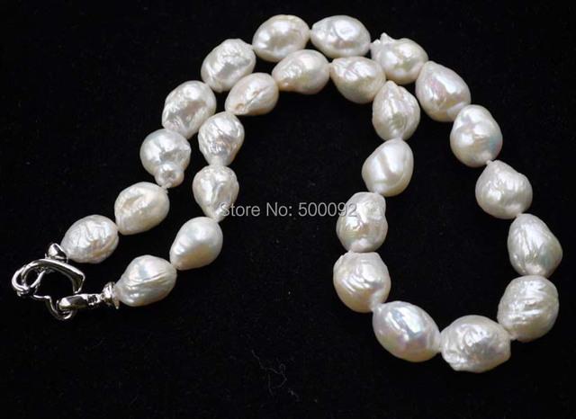 11-14mm Barroco Kasumi cultivada real real collar de perlas envío gratis
