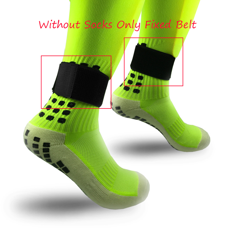 1pair Soccer Shin Guard Stay Fixed Bandage Tape Shin Pads Prevent Drop Off Adjustable Elastic Sports Bandage Sport Fixing Belt