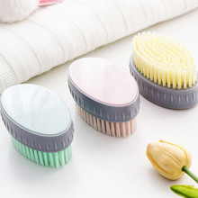 Yooap soft hair laundry small board brush household plastic cleaning brush, pink, white, green стоимость