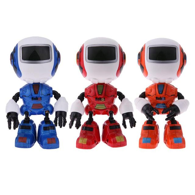 Multifunction Touch Sensor Robot Children Intelligent Alloy Sounding Toy for Kids Early Education Gifts