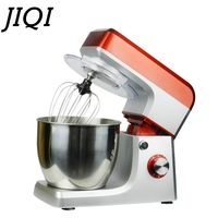 JIQI 5L Electric food mixer Automatic Eggs Beater Milkshake Cake Dough Maker Stand Mixers Chef Blender Machine 110V 220V