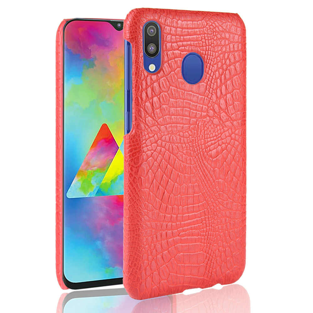 De cocodrilo de cuero de serpiente duro caso para Samsung Galaxy A30 A10 A20 A20E A40 A40S A50 A60 A70 A80 A90 fundas de teléfono 2019