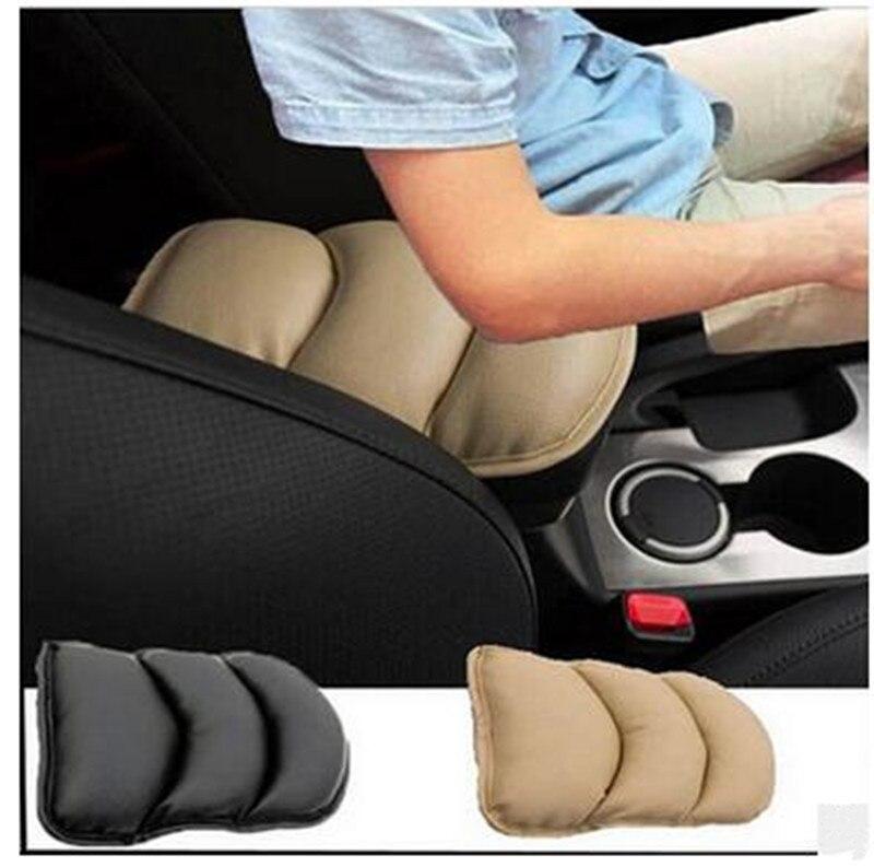 Auto Center Armrest Console Box Armrest Seat Protective Pad Mat For Audi A4 B6 B7 B8 B9 Q2 A3 A6 C6 BMW F30 F10 Accessories