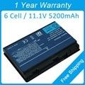 New 6 cell laptop battery for acer Extensa 5430 5610 5620 5635 5230E 5420G 7620Z 5630ZG BT.00603.024 BT.00607.017  BT.00805.010