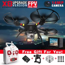 NEW SYMA X8 X8W X8G FPV RC Drone With1080P FULL HD Camera 6-Axis RTF RC Helicopter Quadcopter Fit SJ6000 Camera VS X102H X8HG