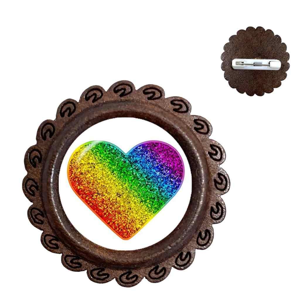 Gay Pride Bros Seks Yang Sama LGBT Perhiasan Gay Lesbian Kebanggaan dengan Rainbow Cinta Dapat Hadiah Hadiah Yang Sama Sex Kerah pin