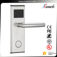 Stainless Steel RFID Hotel Door Locks With Free Software Keyless Intelligent Lock