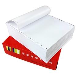 Impresión de forma continua 241*280mm (9,5*11 ) -- papel de computadora de 1ply 1000 hojas por caja