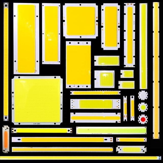 [SUMBULBS] COB светодиодный свет 5 Вт 10 Вт 20 Вт 30 Вт 50 Вт 200 Вт DC чип для светодиодной лампы на борту красочные COB полосы модули для DIY автомобиля домашнее освещение