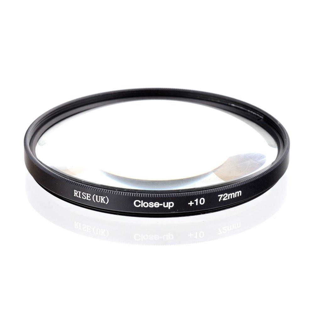 RISE (Reino Unido) 72mm Macro Primer plano + 10 filtro de primer plano para todas las cámaras digitales