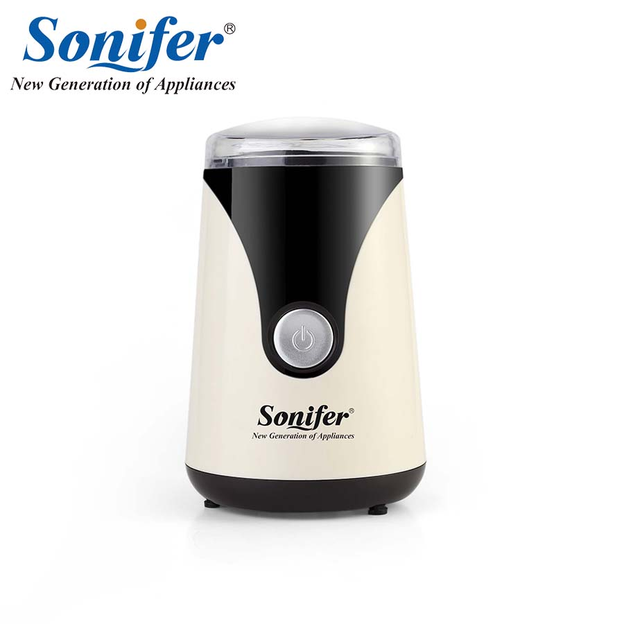 220V Mini Electric Coffee Spice Grinder maker Beans Mill Herbs Nuts Sonifer electric coffee grinder coffee maker with coffee beans mill herbs nuts moedor de cafe 220v home appliances for home