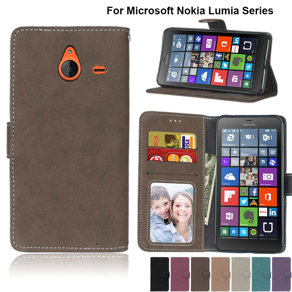 Cellphones & Telecommunications Phone Bags & Cases Flip Stand Matte Cover Cases For Microsoft Nokia Lumia N 435 520 535 550 625 630 640 Xl 650 830 930 850 950 950xl N2 N7 8 Coque Latest Fashion