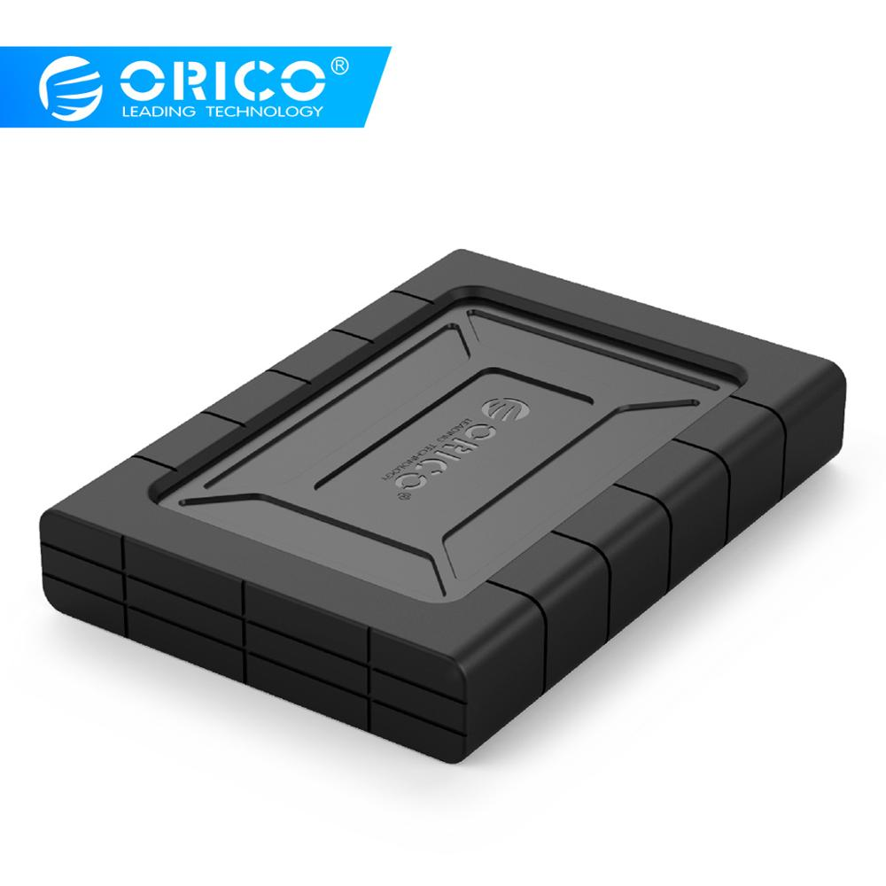 ORICO 2.5 Inch USB3.0 Three-proofing Hard Drive Enclosure With 5Gbps High-Speed For SSD HDD Support UASP SATA III(2539U3)