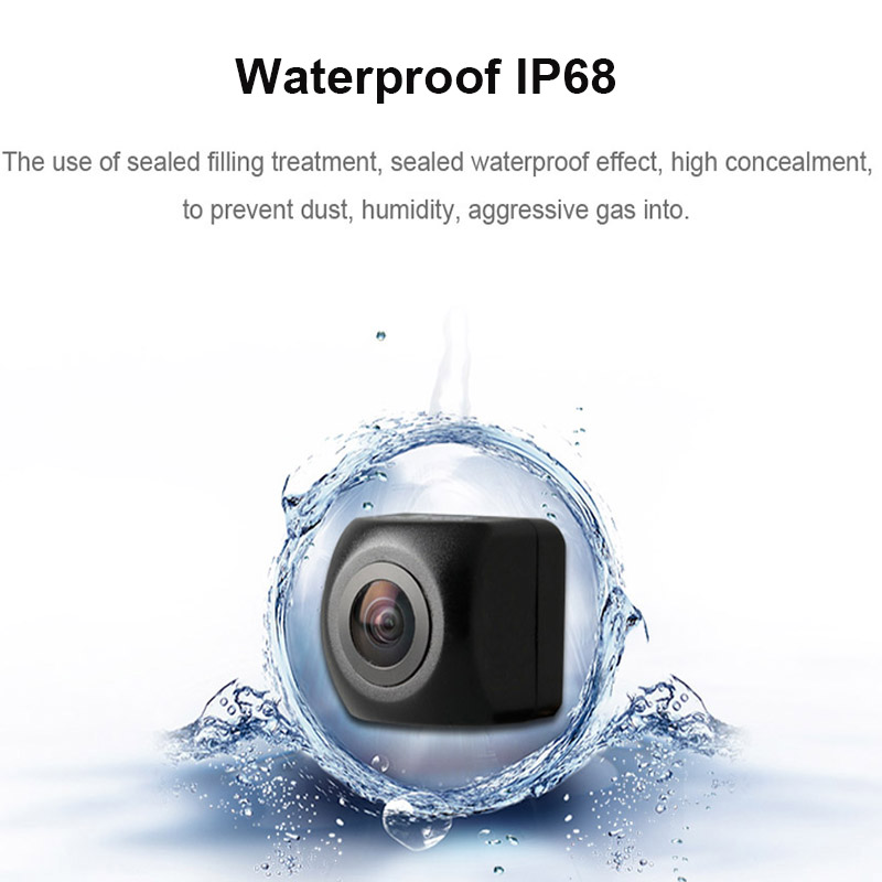 lowest price 12V Rear View Camera Fish Eye Wide Angle Night Vision Waterproof Backup Camera 4 Pin 5Pin For Android Mirror Parking Dash Cam