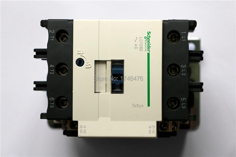 TeSys D Contactor 3P 80A LC1D80 LC1D80L7 LC1-D80L7 200V AC 200VAC