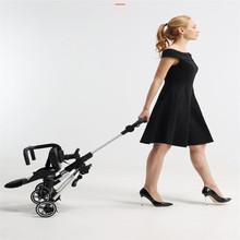 High-view Baby Trolley Carriage Folding Children Four-Wheel Walking Artifact Stroller Folding Buggy Lightweight Pushchair Plane