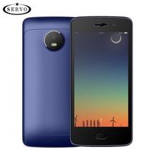 Получить скидку Servo w380 смартфон 4.5 «Экран mtk6580m 4 ядра 1.3 ГГц Android 7.0 телефона Встроенная память 4 ГБ Камера 5.0mp GPS WCDMA Мобильные телефоны