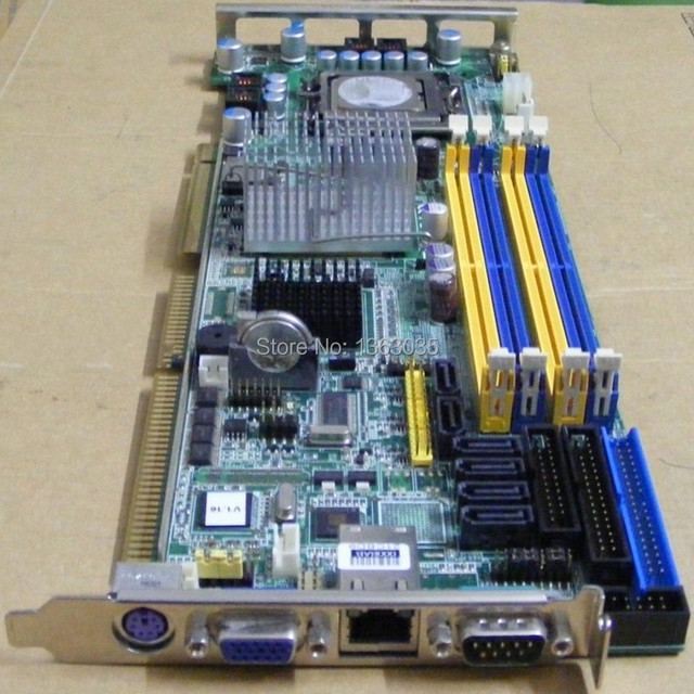 US $270 0 |PCA 6194VG industrial motherboard with VGA ,COM ,single LAN port  ,keyboard port tested working-in Motherboards from Computer & Office on