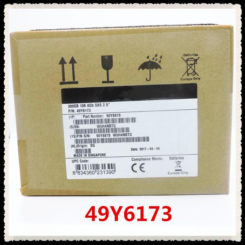 100%New In box 3 year warranty 49Y6173 300GB 10K 2.5