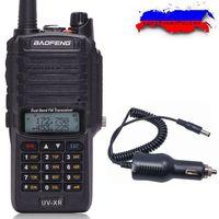 Baofeng UV XR 10W 4800mAh Battery IP67 Waterproof Handheld Walkie Talkie 10KM Long Range Powerful Portable Two Way Radio+Charger