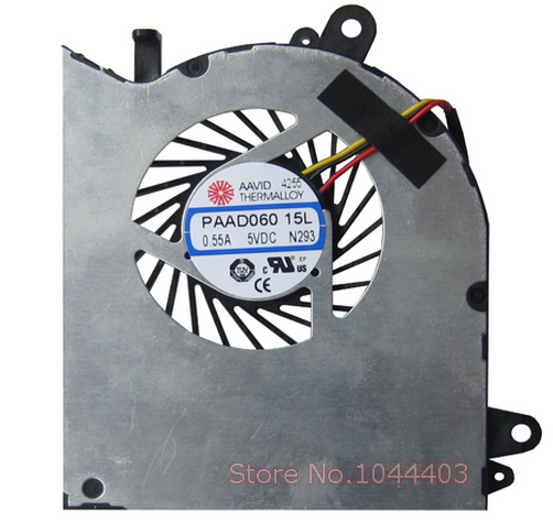 New Laptop Notebook Gpu Cooling Fan For Msi Gs60 2qe Paad06015l N293 Paad06015l N293 Cooling Fan Laptop Notebook Fannotebook Cooling Fan Aliexpress