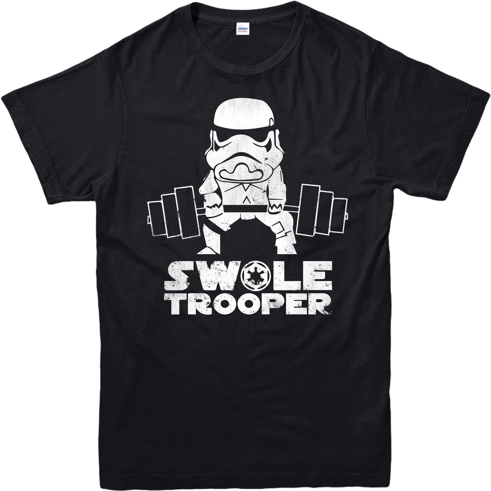 Star Wars T Shirt Swole Trooper Gym Spoof Bodybuilding Adult and kids Sizes Youth Round Collar Customized T Shirts free shipping in T Shirts from Men 39 s Clothing